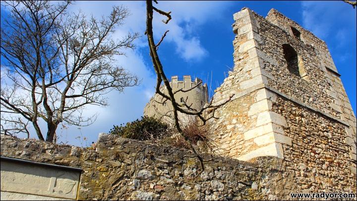 "Ruins of the castle ""Randeck"" nearby Kelheim, Germany"
